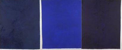 RAQUEL (1925-2014)  Sans titre, 1973  Triptyque....