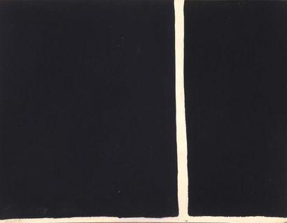 RAQUEL (1925-2014)  Sans titre, 1975  Gouache sur papier signé et daté en bas...