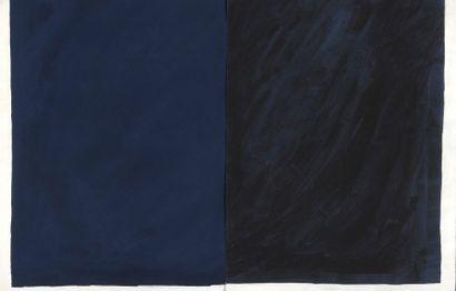 RAQUEL (1925-2014)  Sans titre, 1978  Diptyque....