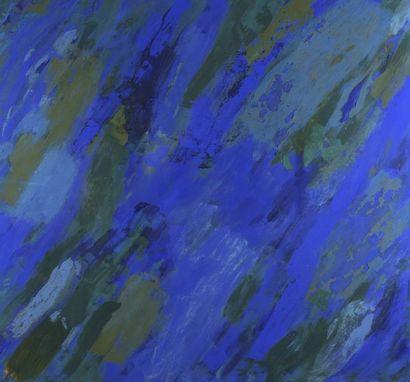 RAQUEL (1925-2014)  Bleu, 2001  Technique...
