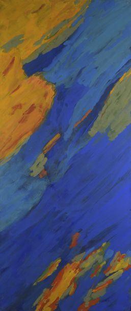 RAQUEL (1925-2014)  Eclipse, 1980  Acrylique...