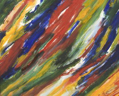 RAQUEL (1925-2014)  Sans titre, 2000  Acrylique...