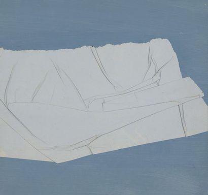 RAQUEL (1925-2014)  vers 1972  Collage...