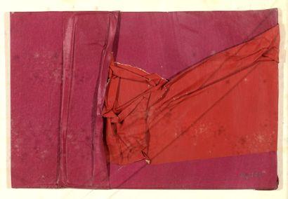 RAQUEL (1925-2014)  Sans titre, 1972  Collage...