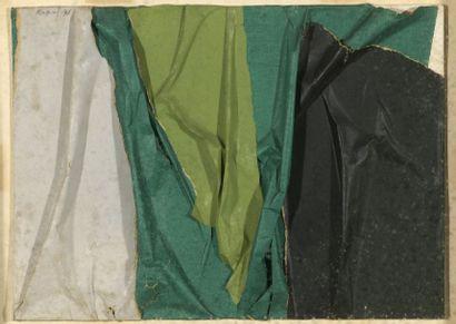 RAQUEL (1925-2014)  Sans titre, 1971  Collage...