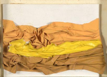 RAQUEL (1925-2014)  Sans titre, 1969  Collage...