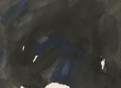 RAQUEL (1925-2014)  Sans titre, 1987  Encre et aquarelle sur papier signé et daté...