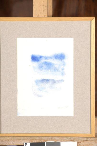 RAQUEL (1925-2014)  Sans titre, 1985  Deux...