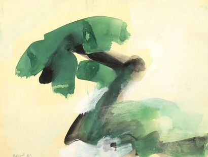 RAQUEL (1925-2014)  Lot comprenant un ensemble...