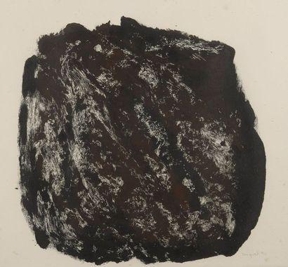 RAQUEL (1925-2014)  Boule, 1990  Monotype...
