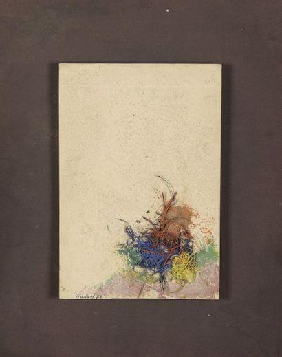RAQUEL (1925-2014)  Sans titre, 1963  Technique...