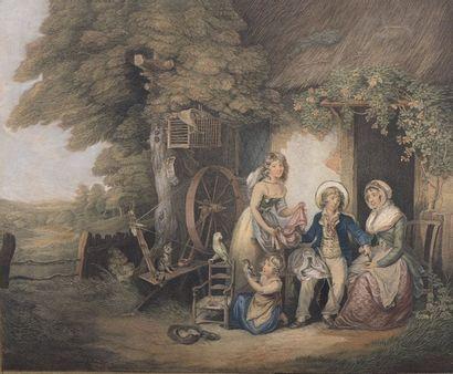 Philibert-Louis DEBUCOURT (1755-1832)  Les...