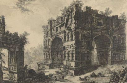 Giovanni Battista PIRANESI (1720-1778)  Tempio...