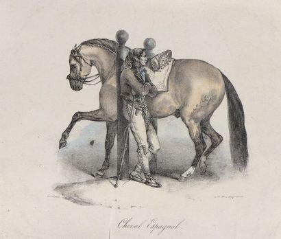 Théodore GÉRICAULT (1791-1824)  Études de...