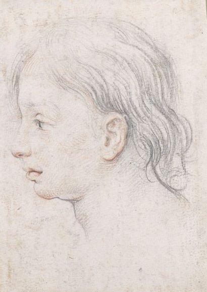École FLORENTINE vers 1600  Portrait de...