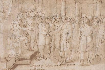 École ROMAINE de la fin du XVIe siècle  La...