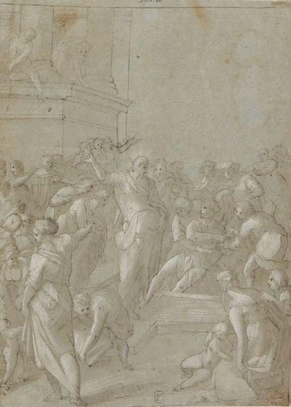 École FLORENTINE du XVIe siècle  La résurrection...