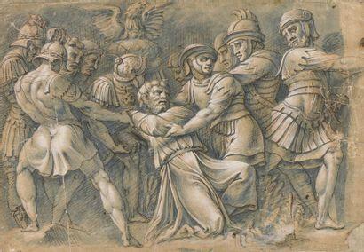 École ITALIENNE du XVIe siècle, d'après POLIDORO...