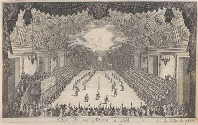 Jacques CALLOT (1592-1635)  Guerre de Beaûté,...