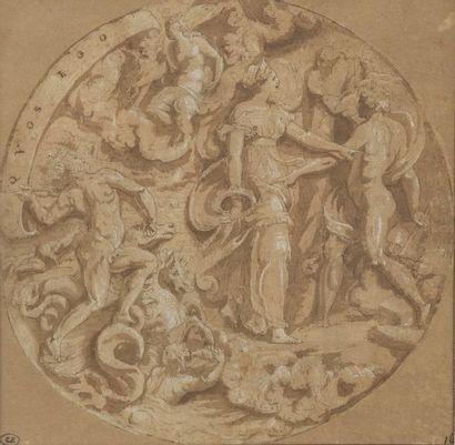 École ITALIENNE du XVIe siècle, entourage...