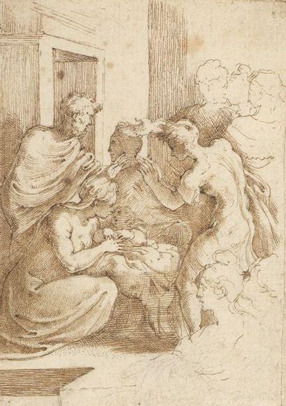 École ITALIENNE vers 1600, suiveur du PARMESAN...