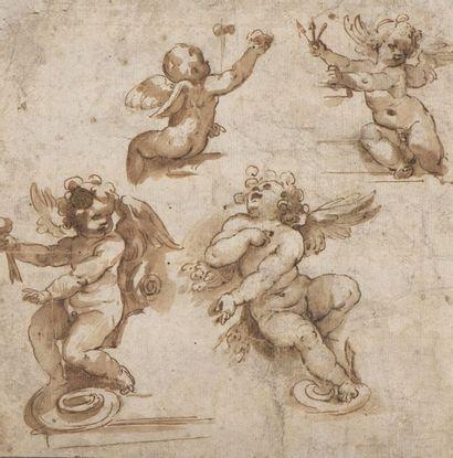 Attribué à Giovanni BAGLIONE (1566-1643)...