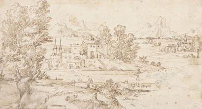 École ITALIENNE du XVIIe siècle, entourage...