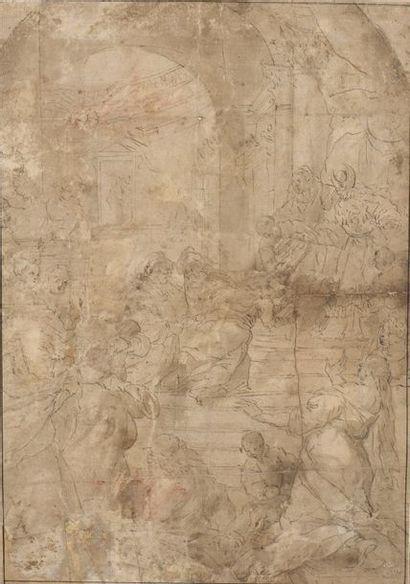 École ITALIENNE du XVIIe siècle, suiveur...