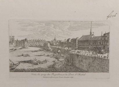Israël SILVESTRE (1621-1691)  Vue de la...