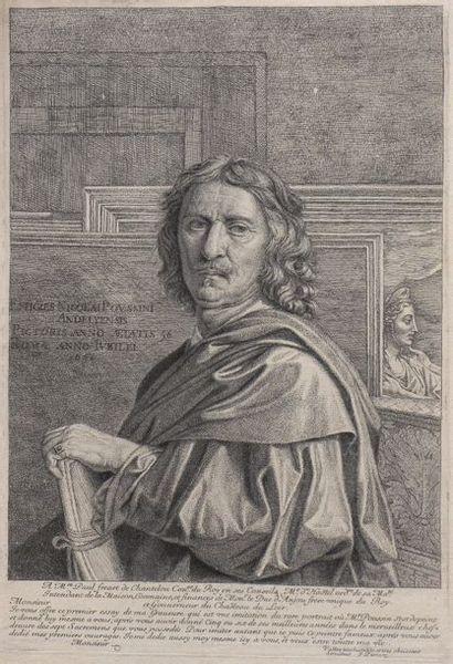 Jean PESNE (1623-1700)  Portrait de Nicolas...