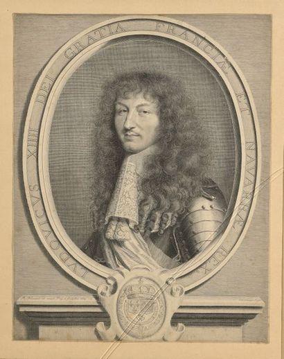 Robert NANTEUIL (1623-1678)  Portrait de...