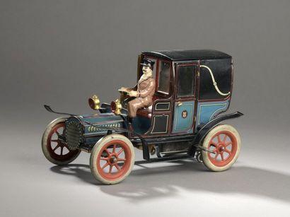 GUNTHERMANN ASGW 1910 Landaulet en tôle lithographiée...