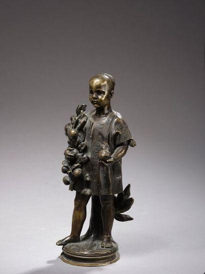 Charles CORDIER (1827-1905)  Enfant Kabyle...