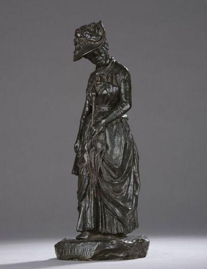 École ITALIENNE vers 1880  Zittellona  Bronze...