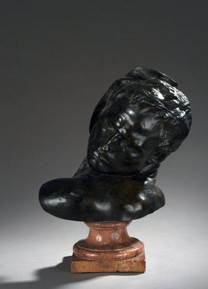 Jef LAMBEAUX (1852-1908)  Lutteur  Bronze...