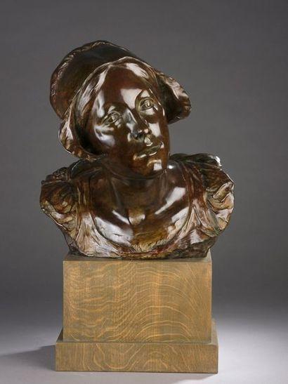 Charles SAMUEL (1862-1939)  La jeune Belge...