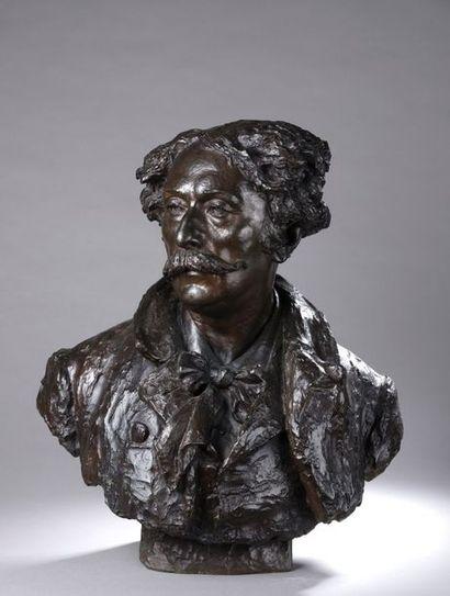 Domenico TRENTACOSTA (1856-1933)  Portrait...