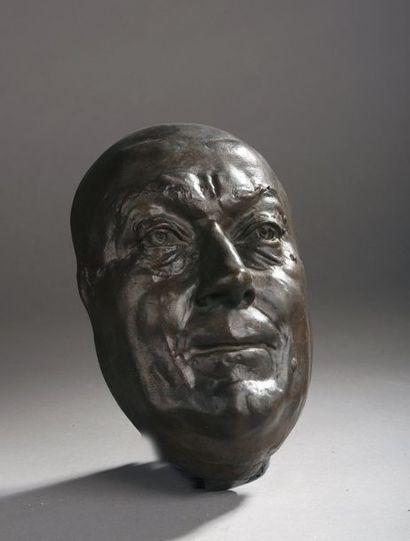 Zacharie ASTRUC (1835-1907)  Masque de Théodore...