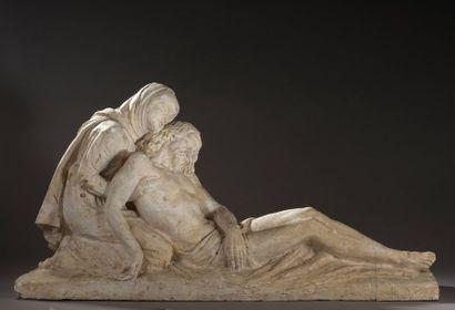Louis Marcel BOTINELLY (1883-1962)  Pietà,...
