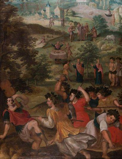 Ecole de PARME de la fin du XVIème siècle,...