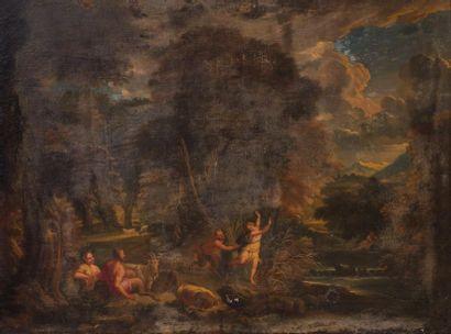Ecole française du XVIIème siècle Pan et...