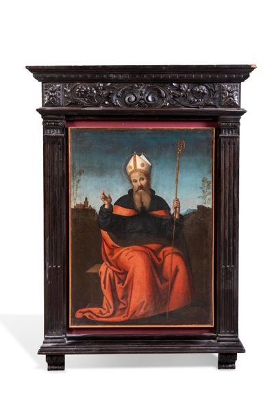 Ecole italienne du XVIIe d'après Pérugin,...
