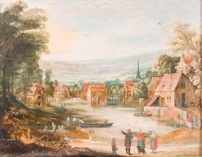 École flamande vers 1650 Suiveur de Joos...
