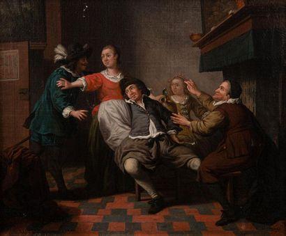 Jan Jozef I HOREMANS (1682-1752/59) Scène...