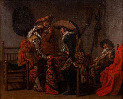 Jan Jozef I HOREMANS (1682-1752/59) Les tricheurs...