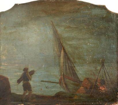 École FRANÇAISE du XVIIIe, suiveur de LACROIX...
