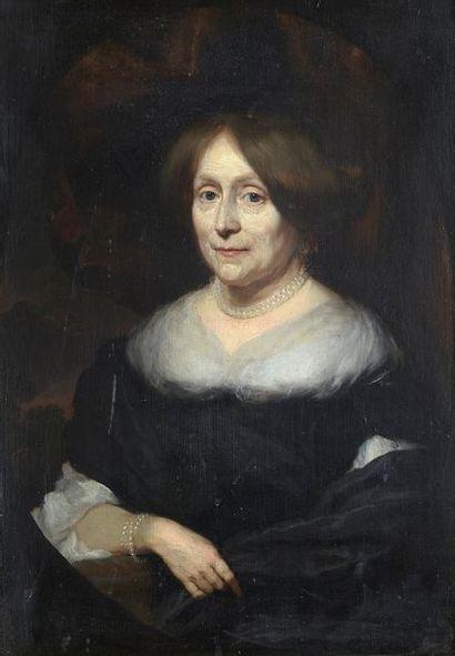 Nicolas MAES (1634-1693) Portrait de Maria...