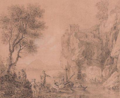 Ecole française du XVIIIème siècle, RINGUET?...