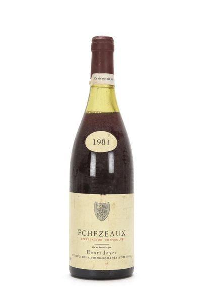 1 bouteille ÉCHÉZEAUX (Grand Cru) 4 cm; e.a;...