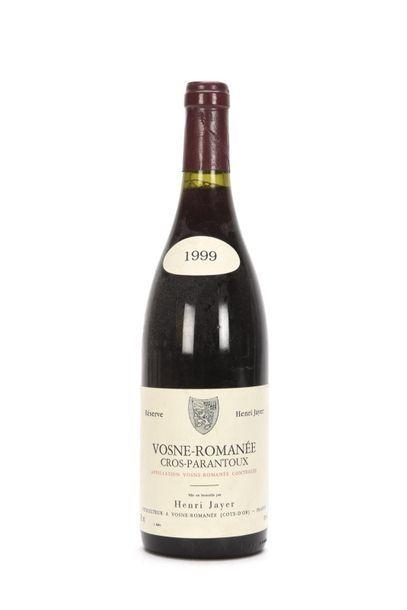 1 bouteille VOSNE-ROMANÉE CROS-PARANTOUX...